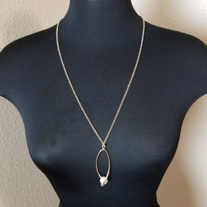 Charming Charlie Gold Tone Chain Necklace